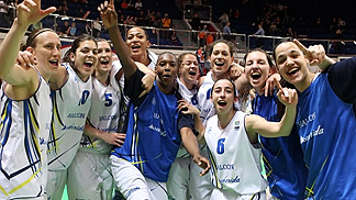 Halcon Avenida Salamanca - Celebration EuroLeague Women 2011 Final